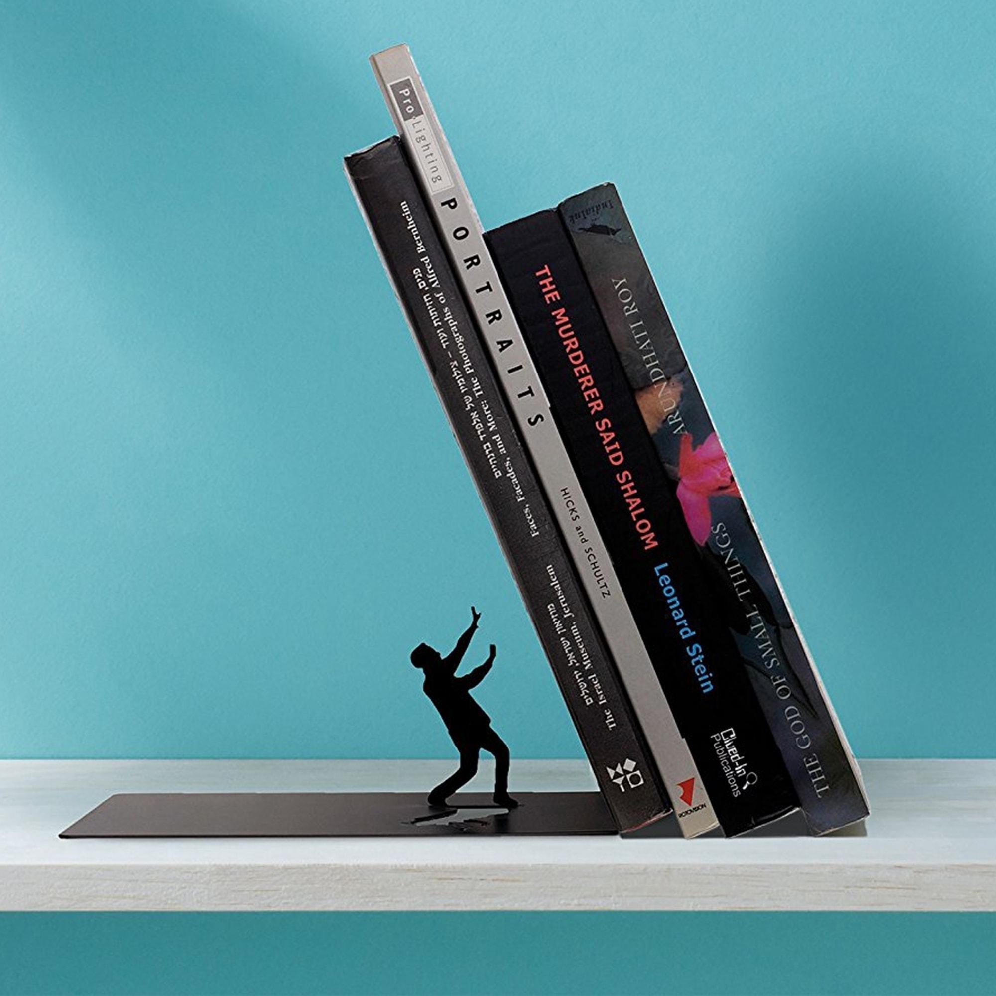 תומך ספרים מתגונן - Falling Bookend