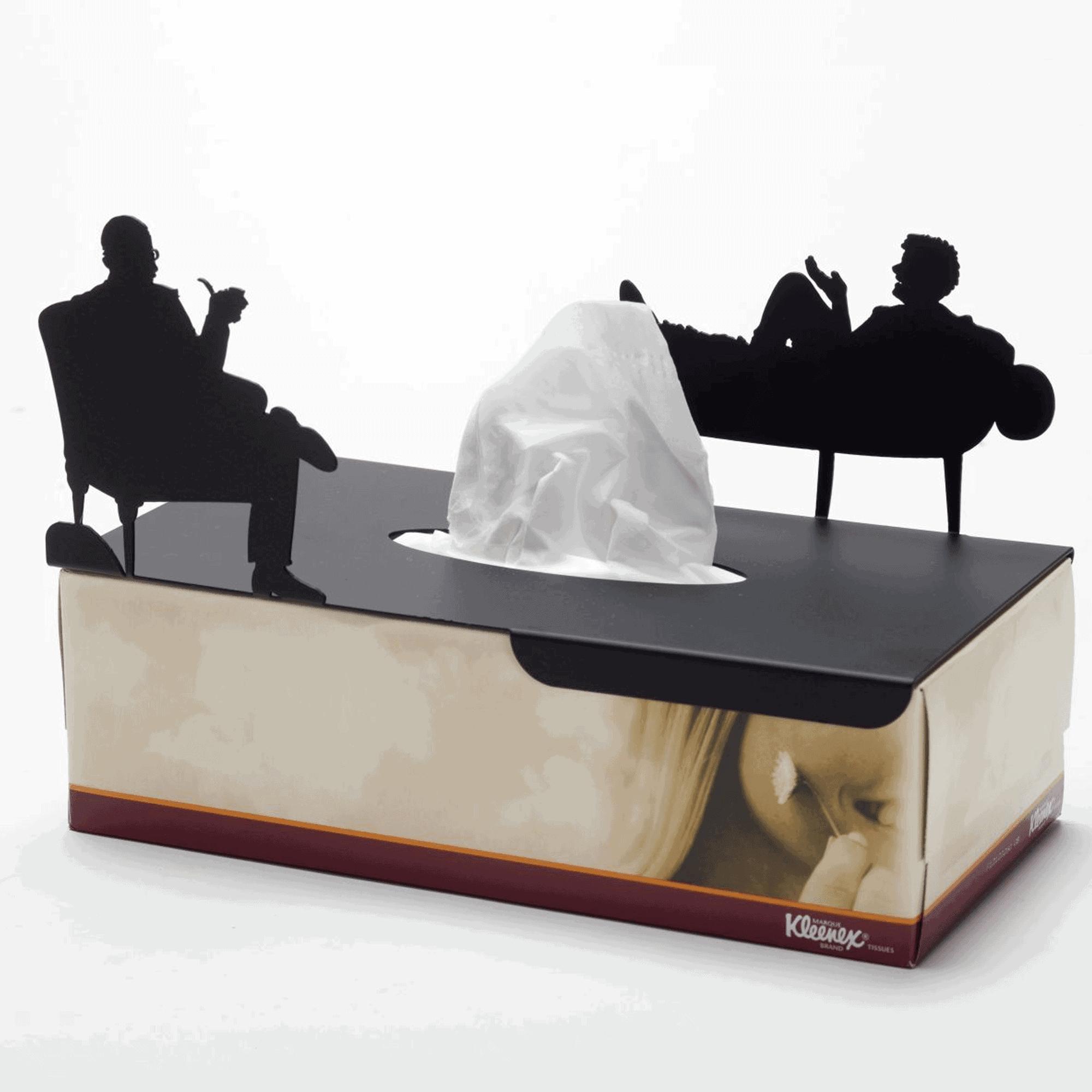 בטיפול - כיסו לקופסת טישו מלבנית