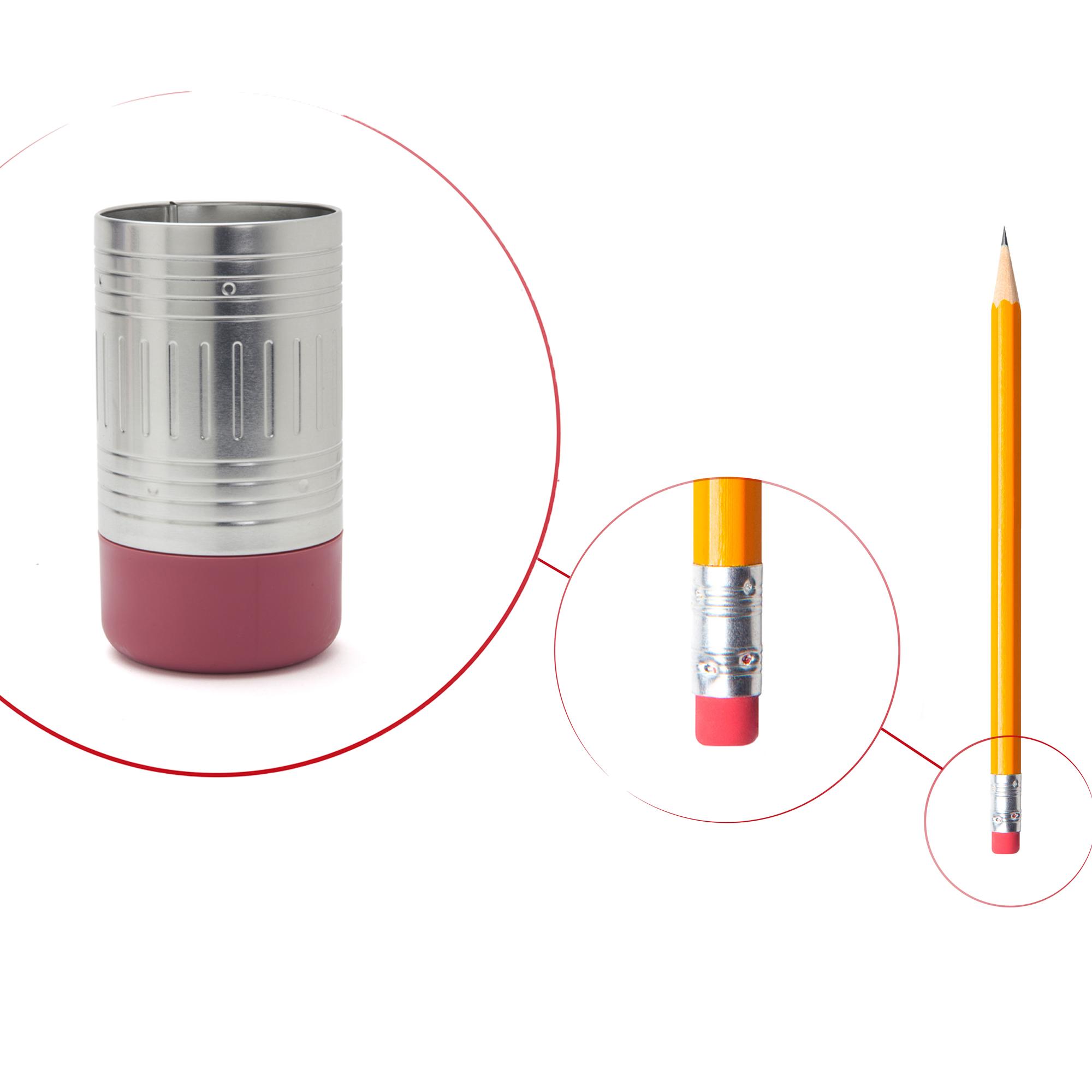 סוף העיפרון - כוס לציוד משרדי