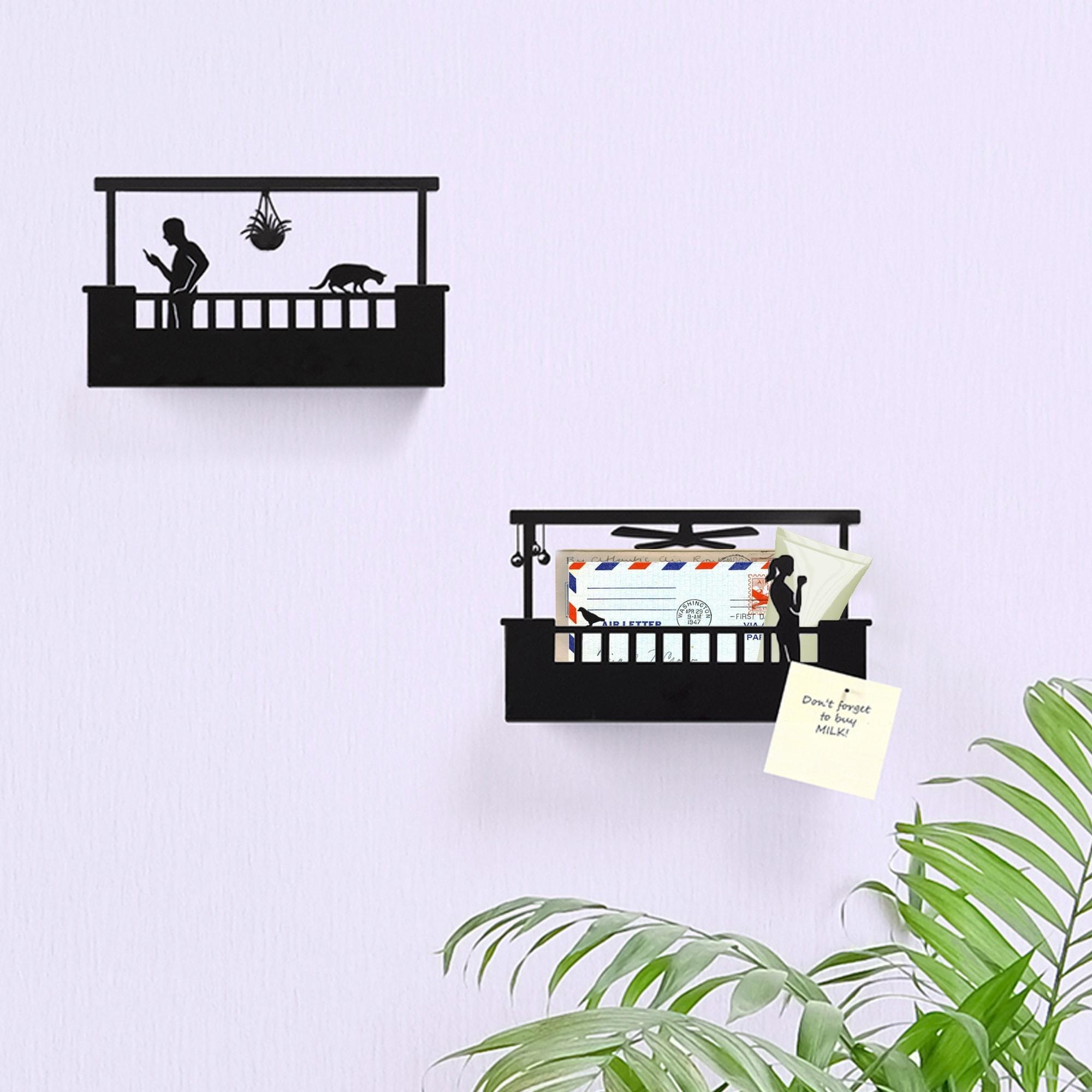 בלקוני - מדף מפתחות דקורטיבי - דגם A Hers