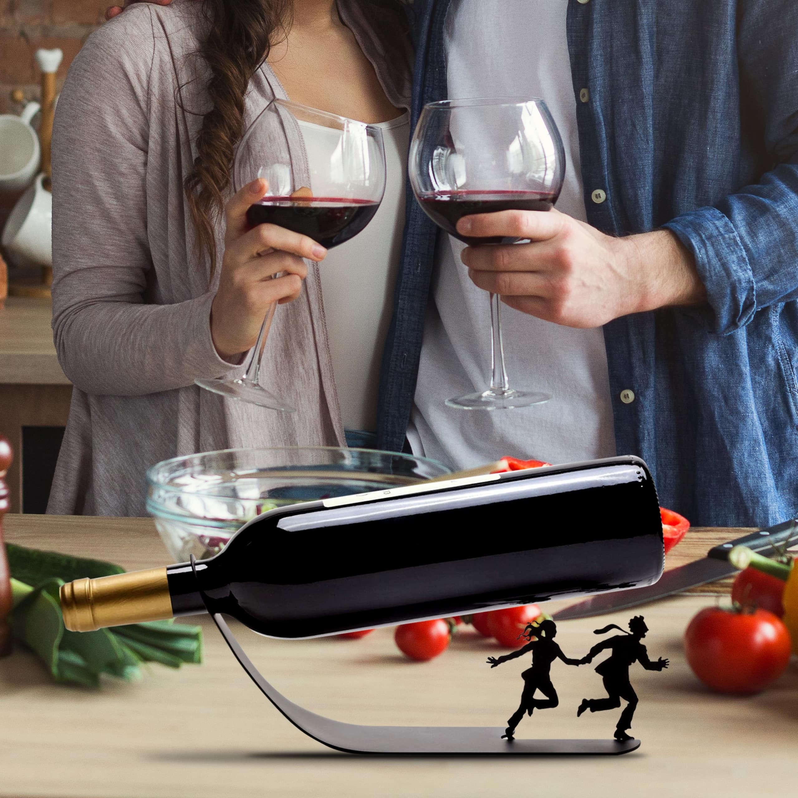 Wine for Your Life - Wine Bottle Holder - Unique Gifts
