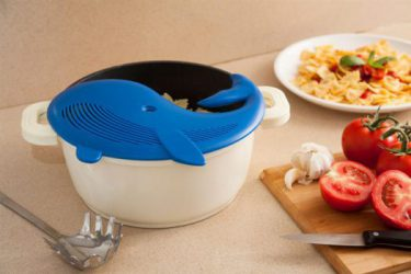 Plankton - Pot strainer - Blue - Original Gifts for Home