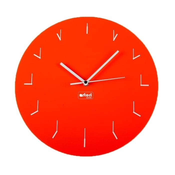 Clocks Within a Clock - Orange