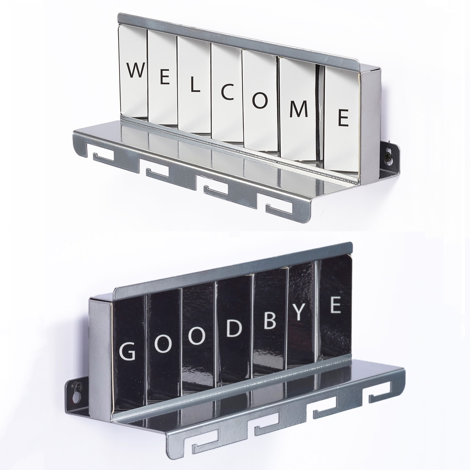 Greetings Metal Silver by Artori Design