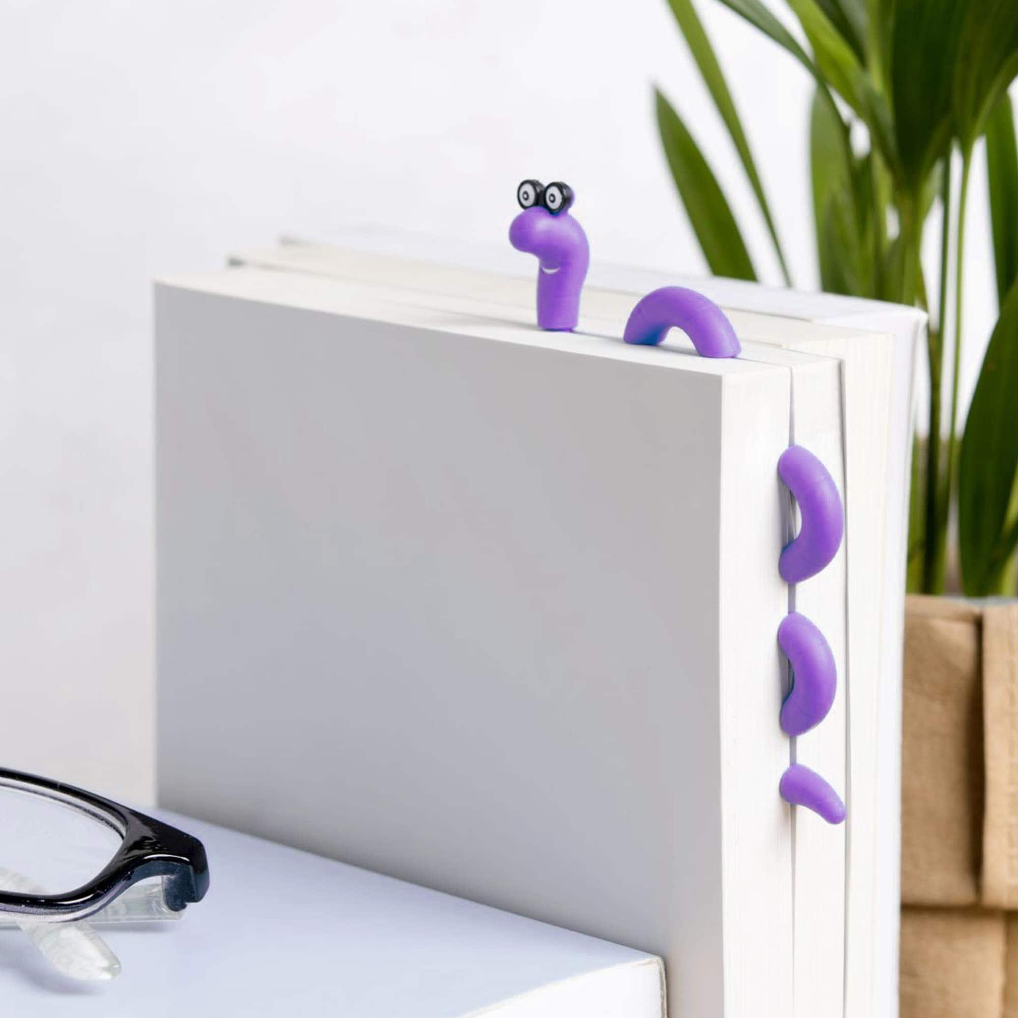 Wally Clip Bookmark - Purple