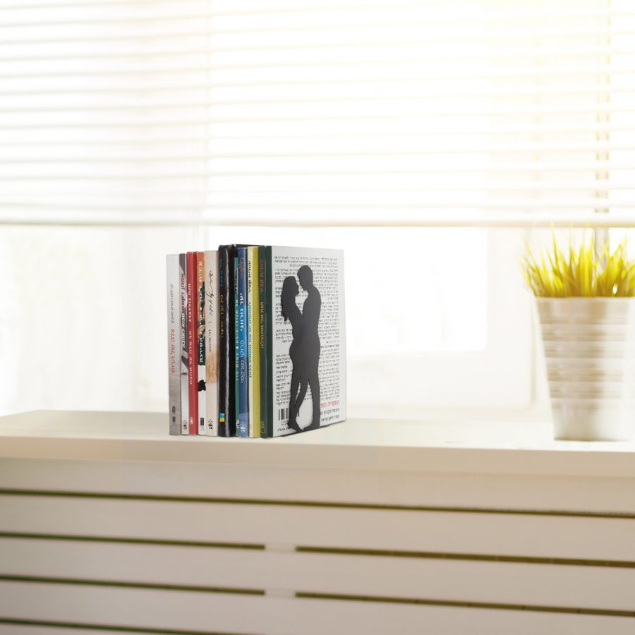 """By the book"" Bookend - for love and romance books"