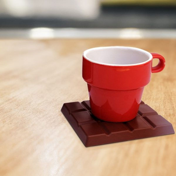 Chocolate Coasters - brown