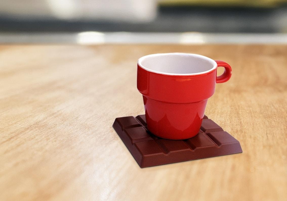 Chocolate Coasters - brown