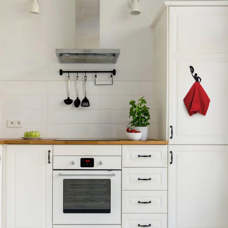 Olé hook - kitchen towel hanger