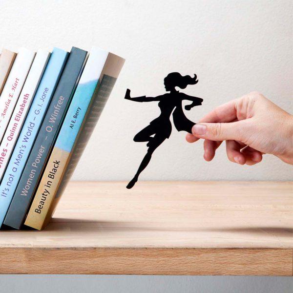 Supergal bookend by Artori Design cool gifts